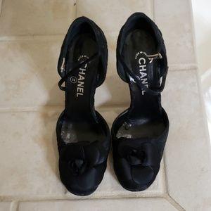 Chanel Black heels